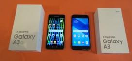 Comparatif Samsung Galaxy A3 2016 vs Galaxy A3 2017 : le choc des générations