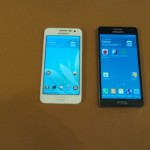 samsung galaxy a3 vs samsung galaxy a5 - vue 09