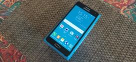 Test du Samsung Galaxy A5 (SM-A500FU) : sous le signe de l'élégance