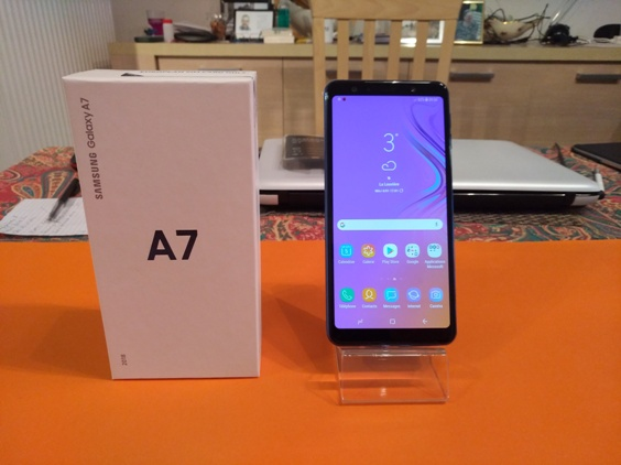 Test du Samsung Galaxy A7 (2018) : le juste prix