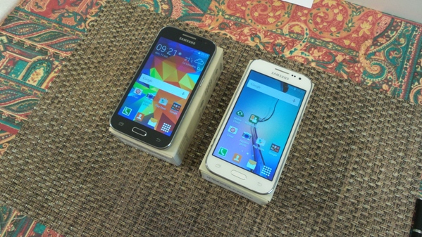 samsung galaxy core prime vs  galaxy core prime ve - vue 09