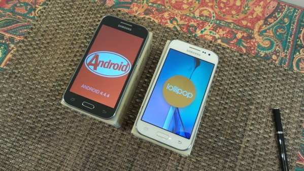 samsung galaxy core prime vs  galaxy core prime ve - vue 14