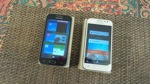 samsung galaxy core prime vs galaxy core prime ve - vue 16