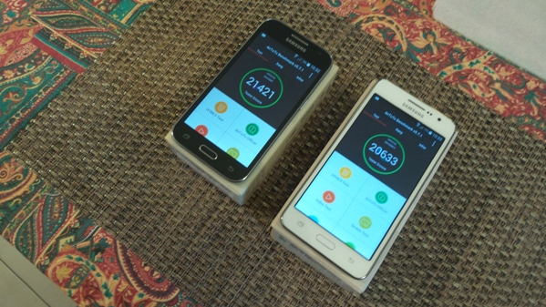 samsung galaxy grand prime vs galaxy core prime - vue 14