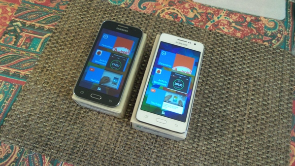samsung galaxy grand prime vs galaxy core prime - vue 16