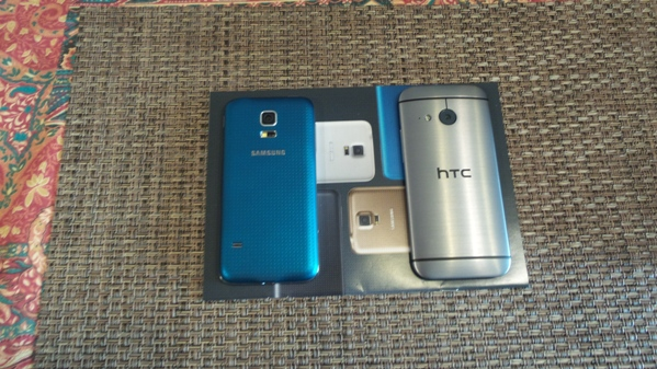 samsung galaxy s5 mini vs htc one mini 2 - vue 01