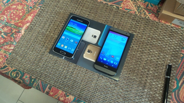 samsung galaxy s5 mini vs htc one mini 2 - vue 02