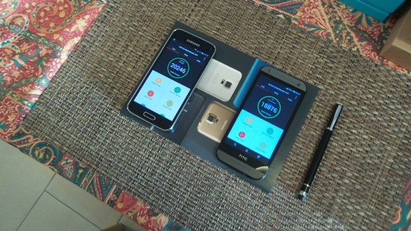 samsung galaxy s5 mini vs htc one mini 2 - vue 03