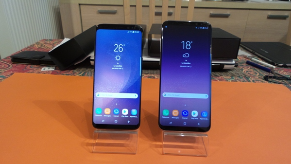 samsung galaxy s8 vs s8+ - vue 06