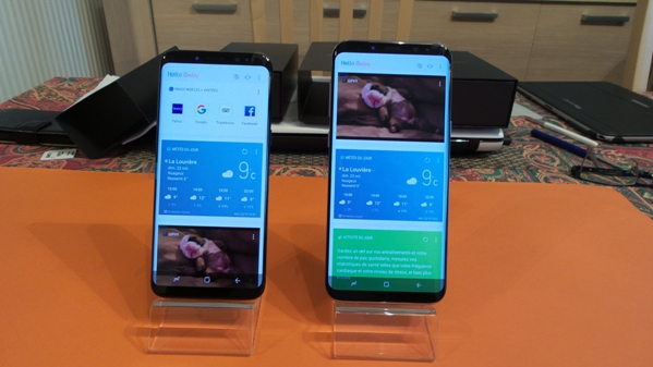 samsung galaxy s8 vs s8+ - vue 11