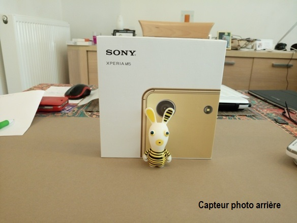 sony xperia m5 - vue 01
