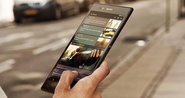 Sony Xperia Z Ultra Du Tres Grand Phablet Japonais