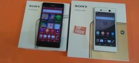 Test comparatif Sony Xperia Z3 vs Sony Xperia M5 : lequel choisir?