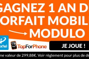 A GAGNER : 1 an de forfait mobile avec Prixtel