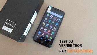 Test du Vernee Thor : le premier smartphone certifié UBER