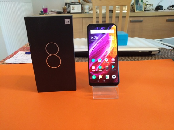 Test du Xiaomi Mi 8 : un Mi qui vous veut du bien