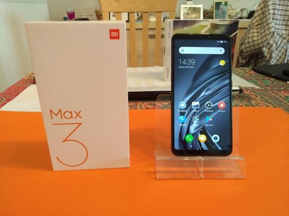 Test du Xiaomi Mi Max 3 : taillé pour le multimédia