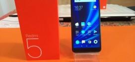 Test du Xiaomi Redmi 5 : un bon compromis
