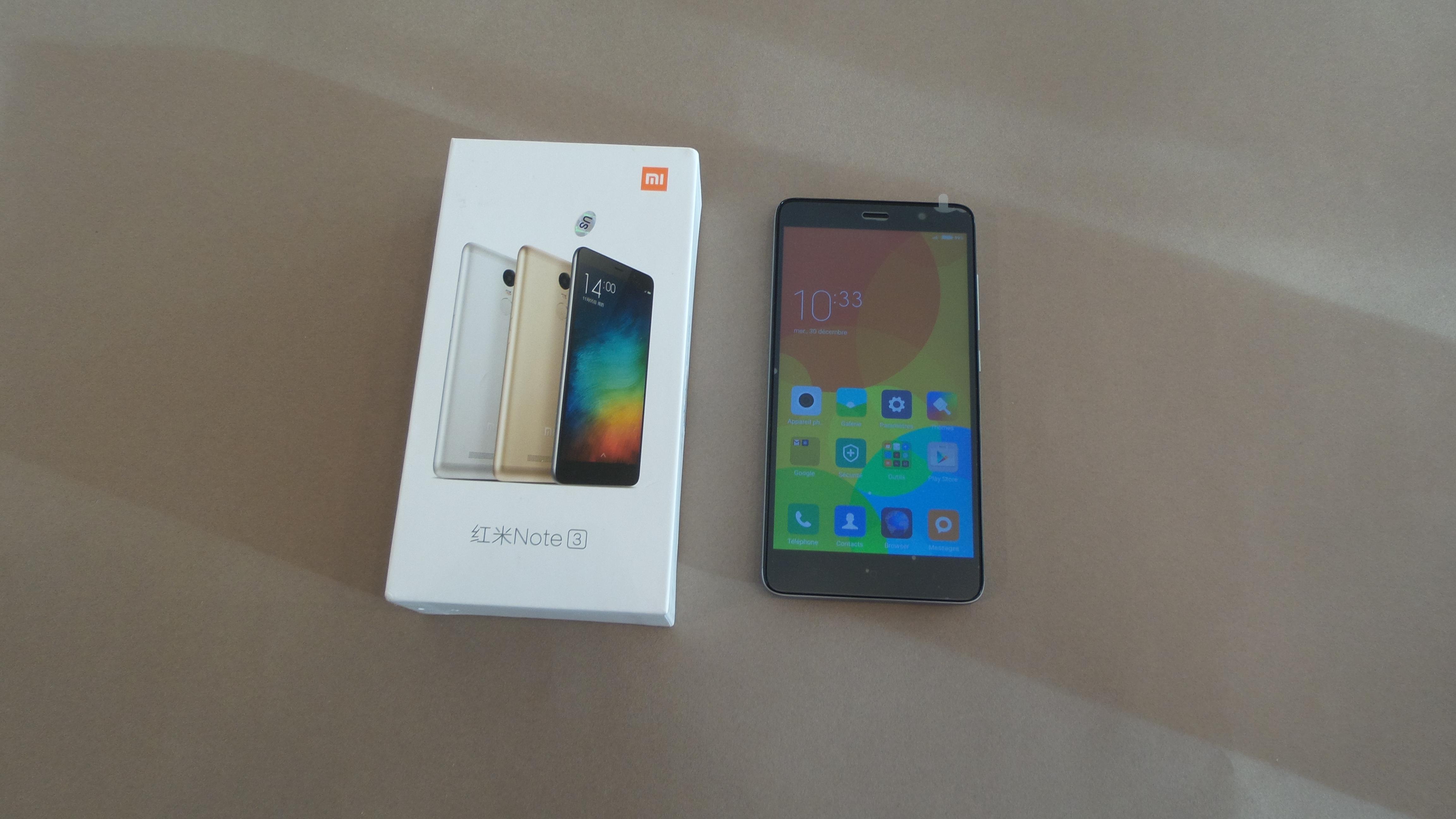 Test Du Xiaomi Redmi Note 3 Puissance Qualite Petit Prix
