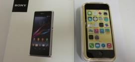 Sony Xperia Z1 Compact vs iPhone 5C : le choc des cultures