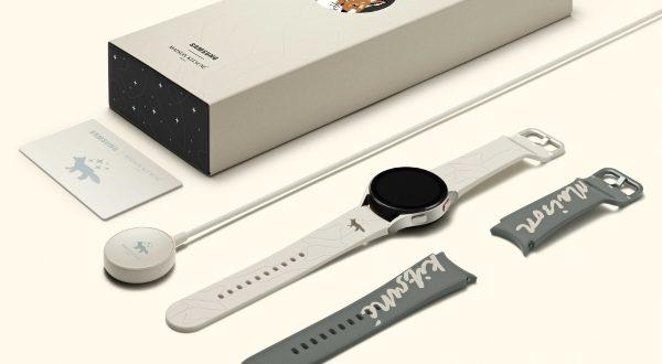 Samsung annonce la Galaxy Watch4 Maison Kitsuné