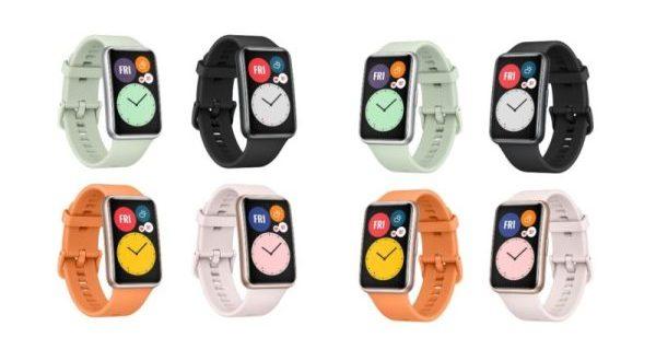 Huawei Watch Fit : les premiers rendus