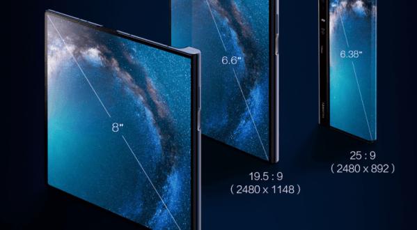Huawei Mate X : il arrive enfin