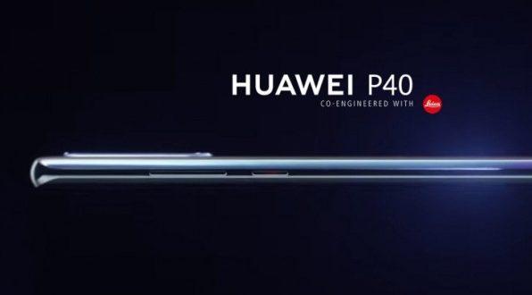 Le Huawei P40 se dévoile