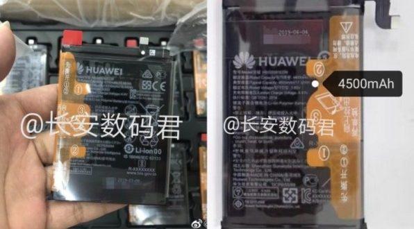 Huawei Mate 30 et Mate 30 Pro : des informations sur leur batterie