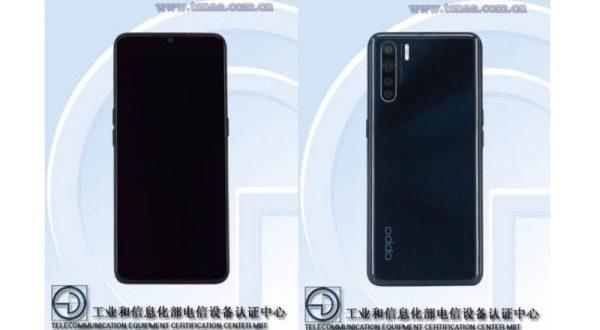 Le Oppo Reno 3 certifié en Chine