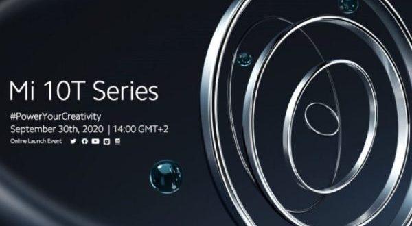 Xiaomi mi 10T : un lancement le 30 septembre