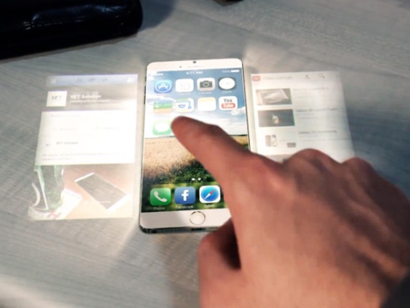 1ecran holographique apple
