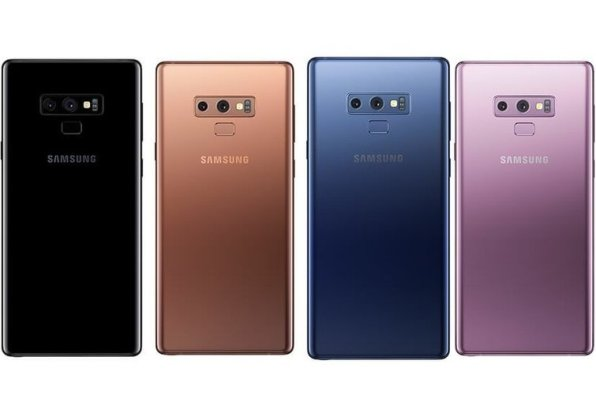 1galaxy note 9 colors