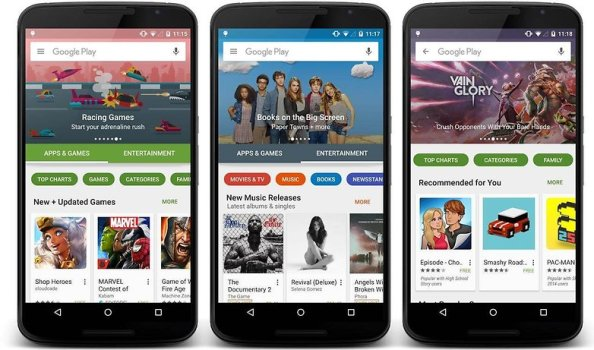 1google play store New 2