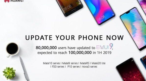 EMUI 9 et Android 9 disponibles sur le Huawei P20 Lite