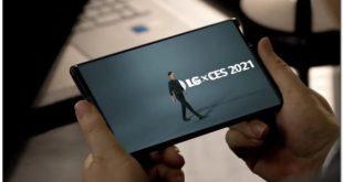 LG rollable phone : un premier aperçu au CES 2021
