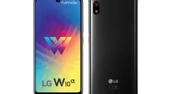 Le LG W10 Alpha est officiel