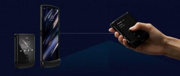 Motorola RAZR 5G : une charge rapide de 18 W