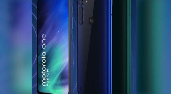 Le Motorola One Fusion est officiel
