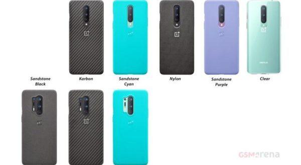 OnePlus 8 : les coques de protection sont en ligne