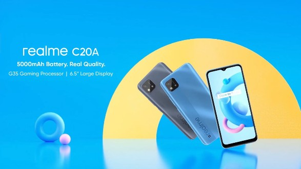 realme C20A : un lancement officiel le 13 mai