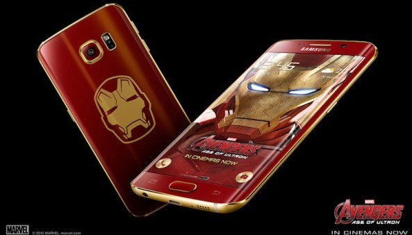 1samsung s6 iron-man edge