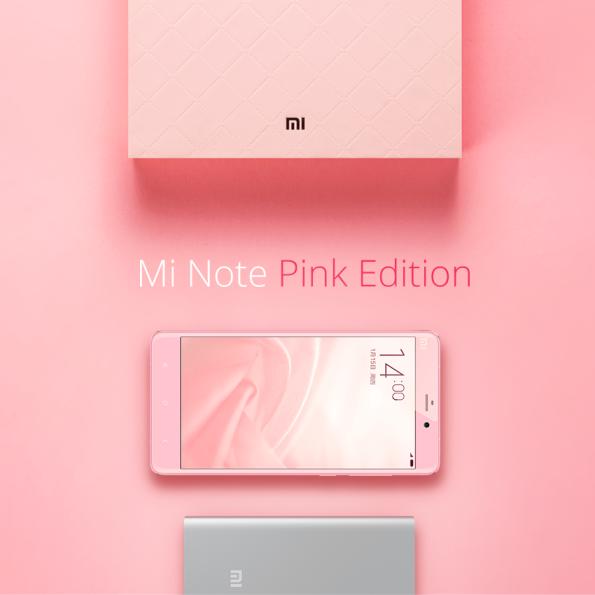 1xiaomi ni note pink