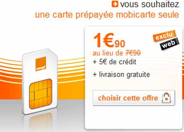 carte sim orange mobicarte Orange Mobicarte – bon plan – Top For Phone