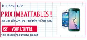Materiel.net - Promo Samsung