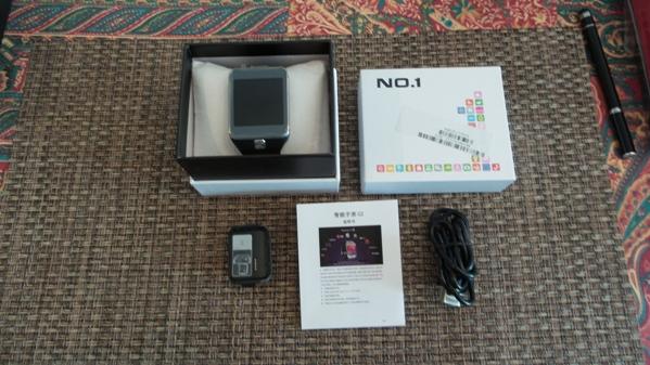 NO.1 Smartwatch G2 - vue 01