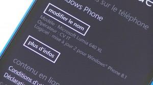 Nokia Lumia 640 XL -  vue 14