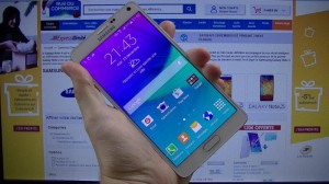 Samsung Galaxy Note 4 - vue 01