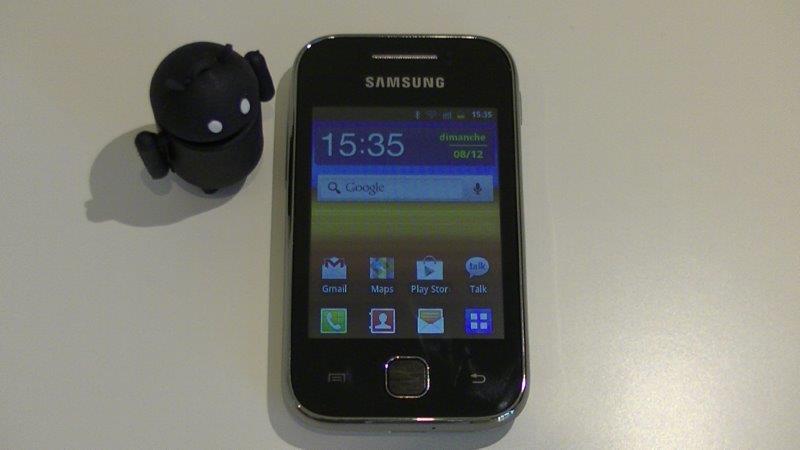 16Go Carte m/émoire pour Samsung Galaxy Y Micro SD GT-S5360