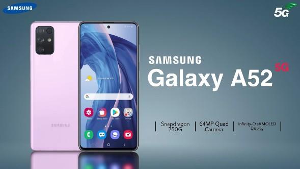 Samsung Galaxy A52 : des specs et des prix